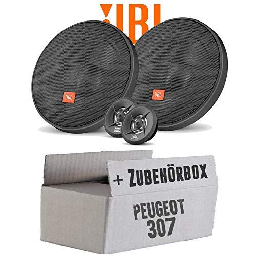 Lautsprecher Boxen JBL 16cm System Auto Einbausatz - Einbauset für Peugeot 307 - JUST SOUND best choice for caraudio