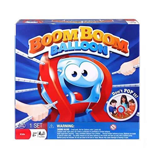Dergtgh Tabelle Boom Balloon Spiel-Brettspiel für Kinder Kinder Jungen-Spielzeug-Geschenk-Familien-Spaß Spielzeug aus Kunststoff Geburtstags-Geschenk