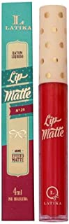 Batom Líquido Lip Matte - Nº 25