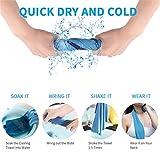 Zoom IMG-2 soulpala 6pcs asciugamani raffreddamento asciugamano