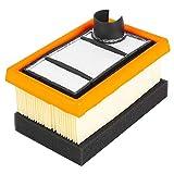 Jeffergarden Kit Filtro dell' Aria Adatto per Stihl TS400 OEM 4223 140 1800, 4223 141 0300...