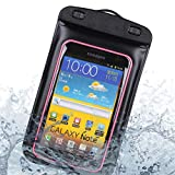 RoxieShoppes Waterproof Pouch Dry Bag for Samsung Galaxy Note 10, Note 10 Plus with Aux Input