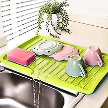 Ustensiles de cuisine Couverts égouttoir égouttoir à vaisselle en plastique plateau égouttoir outils de cuisine support de...
