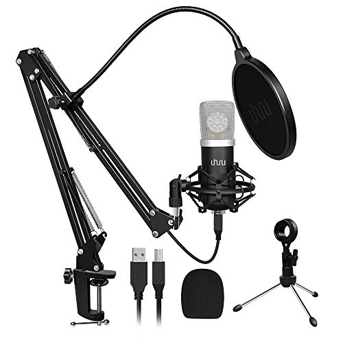 USB Microphone Gaming Computer PC Microphone Kit,UHURU...