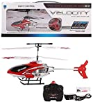 Flying Helicopter, Red Color, Latest Super Alloy Structure Series, Easy Control Infrared Remote
