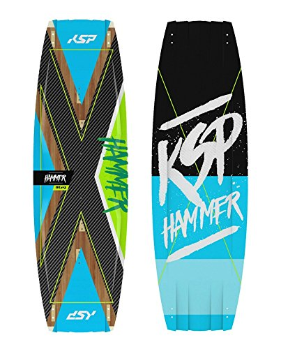 KSP TAVOLA Hammer WAKESTYLE Completa da Kitesurf 135/137/139/141 Kite Board (137x42)