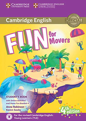 Fun for Movers. Student's Book with Home Fun Booklet and online activities. 4th Edition