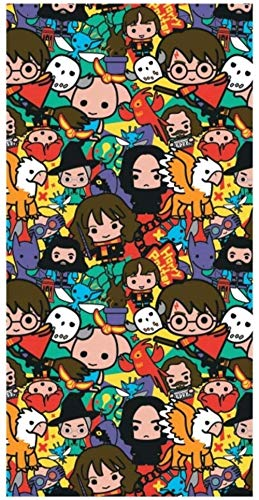 Toalla de Baño Playa Piscina Harry Potter 140 x 70 cm Estilo Kawaii