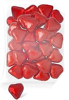 DISOK - Corazones Chocolate (Bolsa 140 Unids.) - Corazones Bombones para Bodas