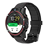 KOSPET Vision 4G Smart Watch GPS Fitness Tracker, 8.0MP Front Dual Camera, 3GB + 32G Memory 1.6-inch Display, 4g-LTE Video Call Sports Smart Watch, Health Monitor, Compatible with Android/iOS