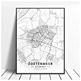 Lomoko Zoetermeer Enschede Deventer Niederlande Karte