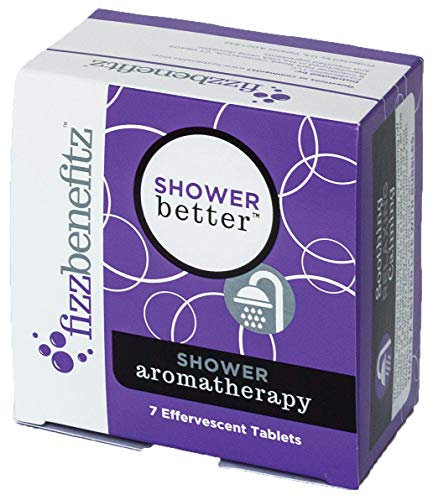 Fizzbenefitz Aromatherapy Shower Bombs - Unwinding Steamer Tablets Release Scents in Warm Water - Bath Bomb for The Shower Creates a Soothing Vapor - Vaporizing Soothers