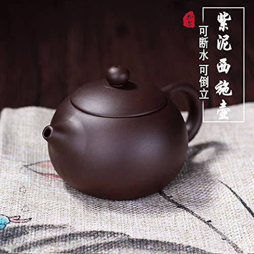 beidexiaowu Maceta de Arena púrpura Zhu Barro Tetera pequeña Cerámica Artesanal Hecho a Mano Juego de té para el hogar Barro Morado Sishi West Pot