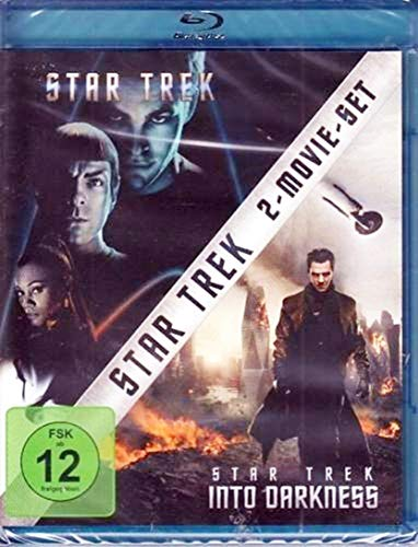 Star Trek 1 & 2 - Into Darkness - 2 Movie Blu-Ray Box Limited Edition