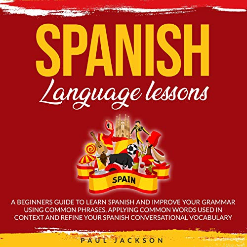 Spanish Language Lessons  By  cover art