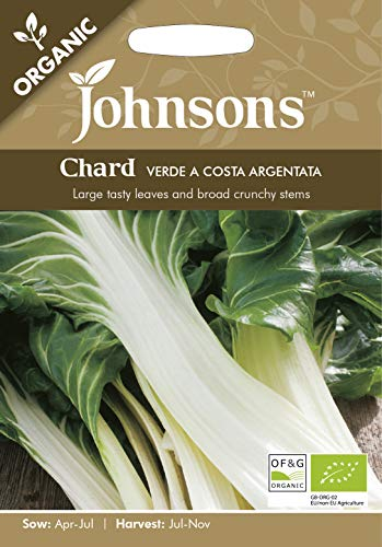 Johnsons UK/JO/VE Graines de chard verde a Costa Argentata bio - 1