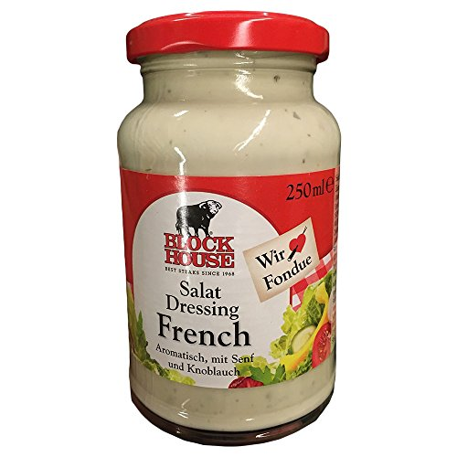 Block Foods Block House Salatdressing French (250ml Glas)
