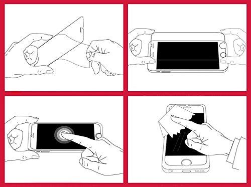 [2 Pack] Panzerglas Schutzfolie Huawei Mate S ( CRR-L09 ) - Gehärtetem Glas Schutzfolie Displayschutzfolie für Huawei Mate S ( CRR-L09 ) - 6