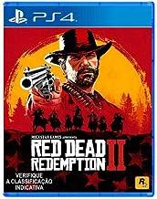 Jogo Red Dead Redemption 2 - Ps4 Mídia Física