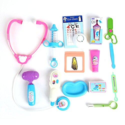 ROSENICE Jeu d'imitation Docteur avec Accessoires Stéthoscope pour Enfants (Modèle Aléatoire)