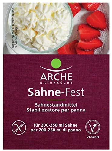 Arche Naturküche Bio Sahne-Fest (6 x 24 gr)