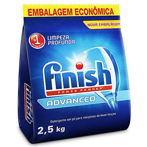 Detergente em Pó Para Lava Louças Finish Advanced, 2,5kg