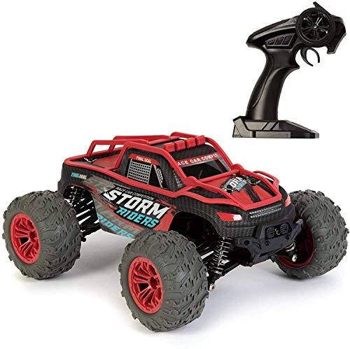 SXLCKJ Coche RC 2.4GHz Escala 1:14 Off Road Dirt Coche con Control Remoto RC Seguimiento Monster Truck Racer 36Km / h Velocidad Coche de Alta Velocidad (Coche Inteligente)