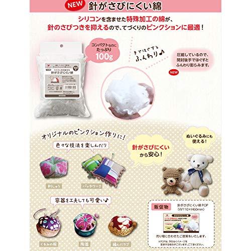 KAWAGUCHI『針がさびにくい綿』