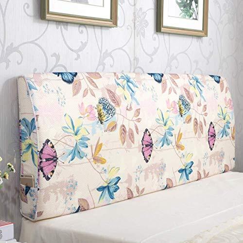 J-Kissen Premium-Dreieck Bett liest Rückenkissen Kissen, Bettkeilkissen Polsterkopfteil gefülltes Kissen Doppelrückenkissen Removable (Color : G, Size : 180x60x10cm(71x24x4inch))