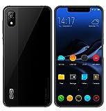 Elephone A4 Smartphone 5,85 pollici HD schermo Notch 19: 9 Android 8.1 cellulare 4G MT6739 Quad core 1,5 GHz 3 GB + 16 GB doppia fotocamera 5 MP + 13 MP - Nero