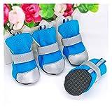 Zapatos Para Perros Zapatos de gato a prueba de agua para perros invierno...