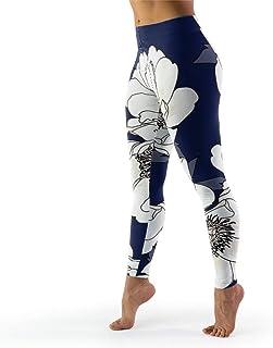 IOVEQG Womens Digital Print Yoga Legging Printed Yoga Leggings Butt Lift Tights