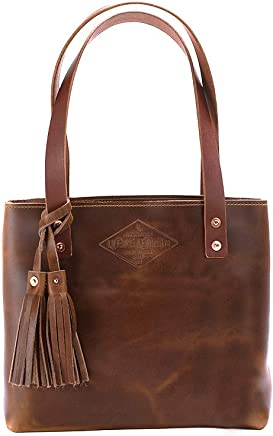 97d88558596e Small Deluxe Leather Tote Bag For Women, Small Leather Bag, Leather Handbag,  Gift