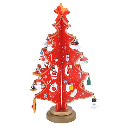 Sapin de Noël artificiel en bois