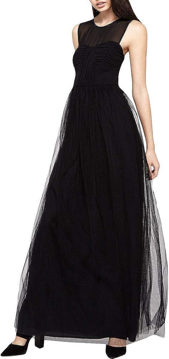 BCBGeneration Women's Tulle Evening Dress