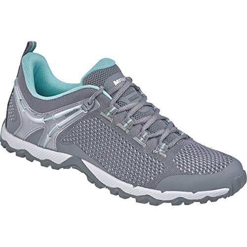Meindl Damen Cefalu Schuhe, grau-türkis, UK 5.5