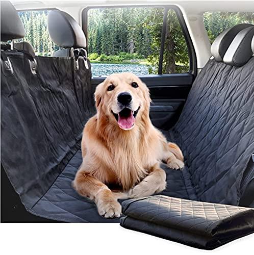 Coprisedile auto per cani, Coprisedile per Cani Posteriore Universale, Telo auto per cani telo macchina cane Antigraffio, Antiscivolo, Resistente per auto SUV e camion