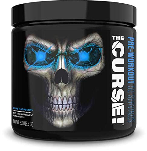 Cobra Labs THE CURSE Pre Workout Booster, 250 g Dose, Blue Raspberry