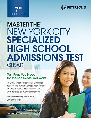 Master the New York City Specialized High School Admissions Test (Peterson\'s Master the New York City Specialized High Schools Admiss)