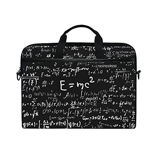 Laptoptasche Blackboard Scientific Formeln Und Berechnungen Laptop Schulter Umhängetasche Etui Hülle Mit Verstellbarem Notebook Schultergurt Leicht Zu Tragen