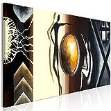 murando Cuadro en Lienzo Abstracto 150x50 cm 1 Parte Impresión en Material Tejido no...