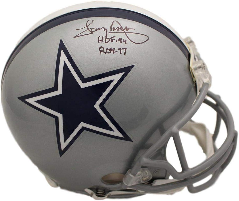 Tony Dorsett Autographed Dallas Cowboys Proline Helmet 2 Insc JSA