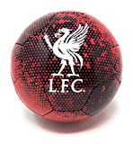 Liverpool FC Soccer Ball Size 5 Futbol Official Licensed Red and Black 2020 Great for Kids, Players, Trainers, Coaches Gift