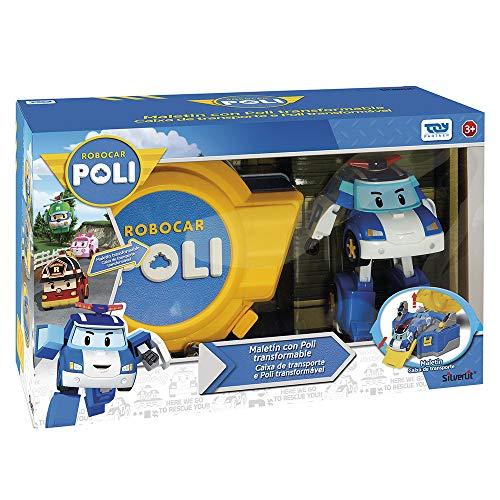 Ouaps - 83072 - Jouet De Premier Age - Robocar Mallette De Jeu Poli 2 En 1 - Véhicule Inclus