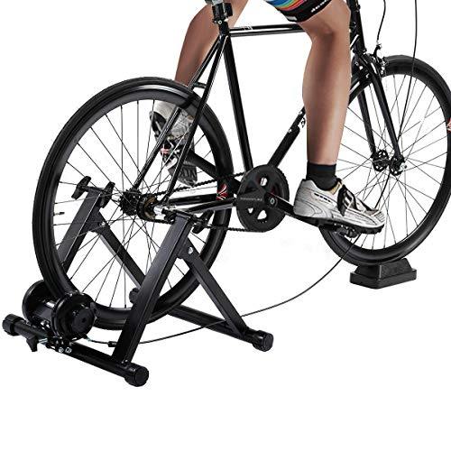 Amazing Deal visdron Resistance Magnetic Indoor Bicycle, 220Lbs A3 Steel + ABS + PE Foldable Design ...