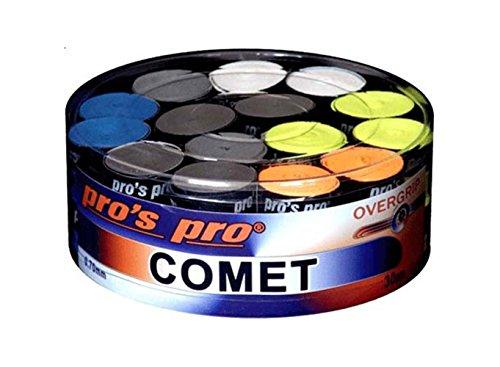 Pro 's Pro Comet–Sobregrip para raquetas–tenis–Squash–Raqueta de bádminton–raqueta Grip–Caja de 30, varios