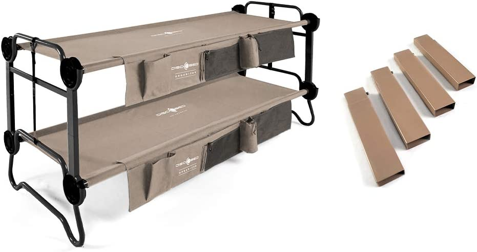 Disc-O-Bed Cam-O-Bunk Bench Double Cot Ranking TOP17 7-Inch w It is very popular Stee Organizers
