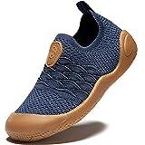 Gaatpot Ragazzi Sneaker Ragazze Scarpe Sportive da Interno Scarpe da Corsa per Bambini Unisex Interior Casual all'Aperto Scarpe Nero 22EU