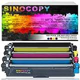 SinoCopy XXL - 4 tóneres para Brother TN-241 TN-245 DCP-9020 CDW HL-3140 3150 3170 CW CDN CDW MFC-9130 9140 9330 TN241 TN245