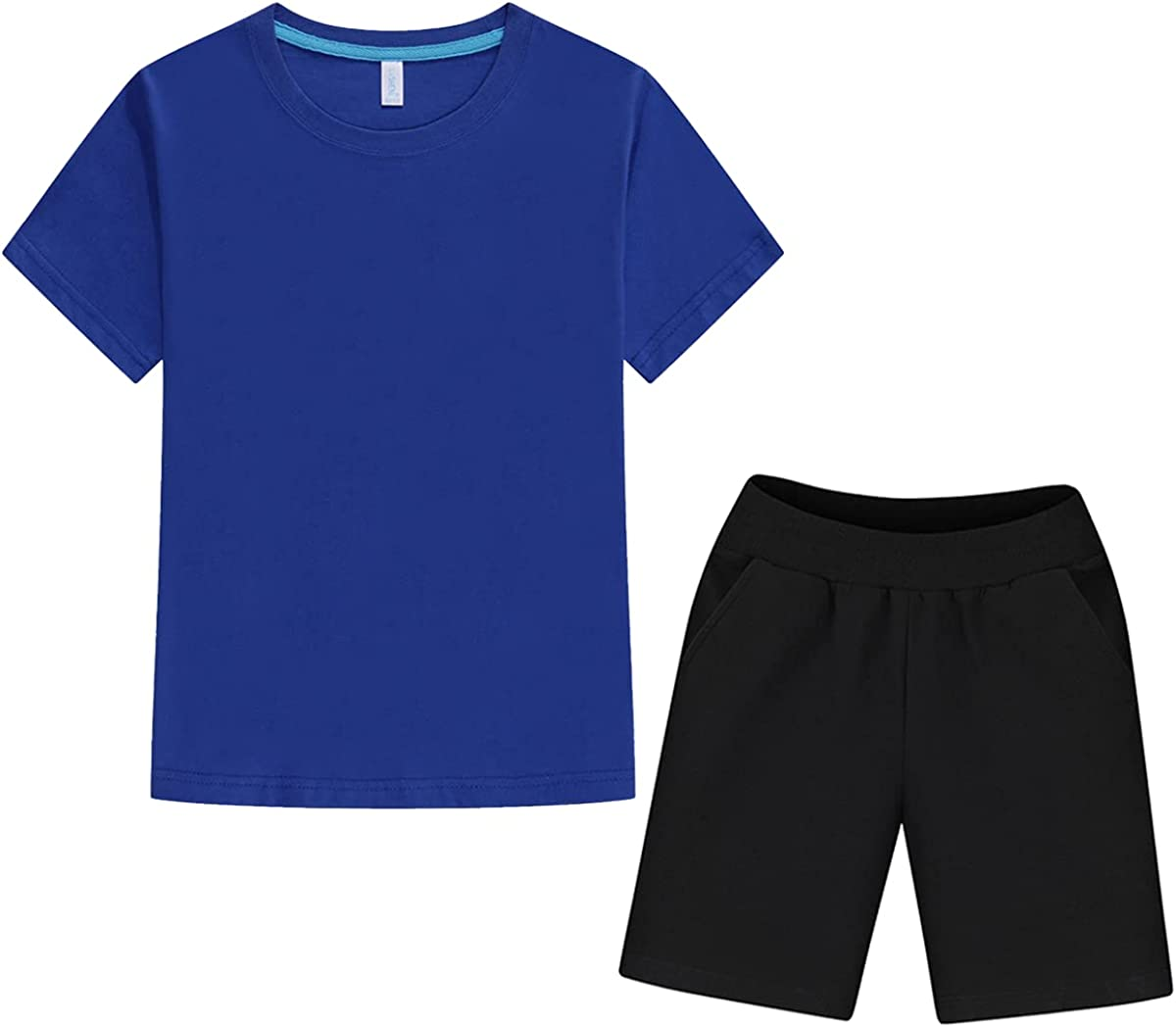 AKVIEII Boys' Summer Short-Sleeve T-Shirt Set 18 Shorts At the price of Max 86% OFF surprise M Size